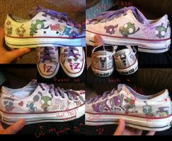 IZ custom shoes by yoyoballkay