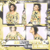Demi Lovato|Pack Png by Heart-Attack-Png