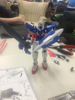 Gundam finished!!!! by cardfightvanguard62