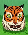 Tiger's Head by Teagle