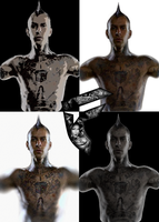 travis barker by K-liss