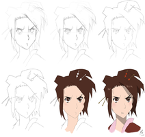 Fuu's evolution by Russianwhite
