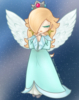 Angelic Rosalina - Coloured by valrise