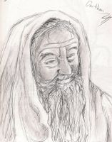 Old man Darthan by HopperARTZ