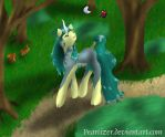 Lindariel in the Forest by PearTizer