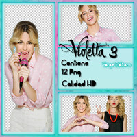 Violetta 3 Pack Png by YorgeEditions