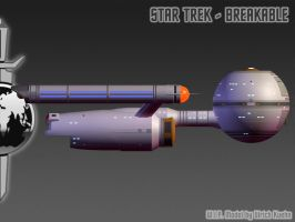 I.S.S. DAEDALUS for STAR TREK - BREAKABLE 02 by ulimann644