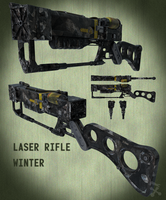 AER-9 Laser Rifle (Winter Camo) by JackBryanReynard