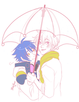 DMMD: Under My Umbrella by Doctor-Ita