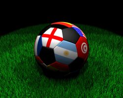 Soccer-Ball with Flags by pyr0xx