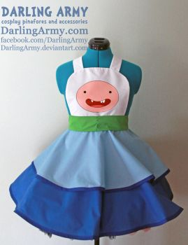 Finn - Adventure Time - Cosplay Pinafore by DarlingArmy