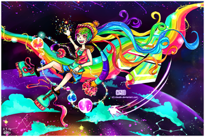 On Rainbow Road by CloudN