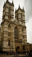 Westminster Abbey by lordofthestrings86