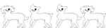 F2U MS paint friendly dog lines by Sterlinq