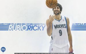 Ricky Rubio Wallpaper by Angelmaker666
