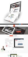 IT Company Web Design by vasiligfx