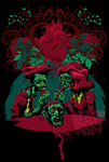 ZOMBIE LOVE alternate colors 2 by pop-monkey