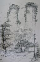 Jiang you Dou tuan mountain by StudioFeng
