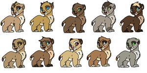 Baby Cubs adoptables #5 CLOSED by GiuuM