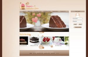 Chocolate Web Template by SukhRiar