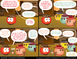 SC662 - Westwood and Cowboy 12 by simpleCOMICS
