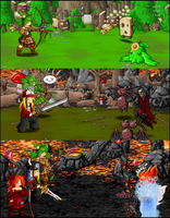 Ashwood Forest Battles by KupoGames