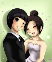 AT:LeeTen wedding by xXUnicornXx