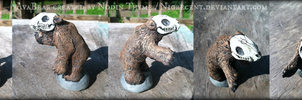 Dungeons and Dragons Miniature Avasin bear by Nigrecent