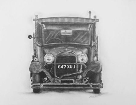 Ford model A Hotrod by autoaesthetics