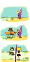 At the Beach- Request by AbbyGaby005