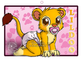 LilDoo Badge by Veemonsito