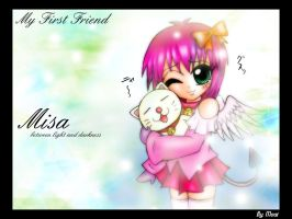 Misa First Friend by moai666
