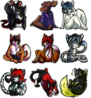 BLARGHICONS by FateHound