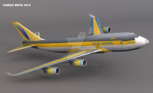 FSX PK CARGO Beta Rendering by VanKaiser