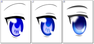 .:Eyes:. by wolfdemon30