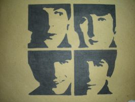 The Beatles by kristhedemon