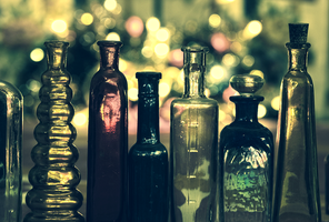A Family Of Bottles by Rustmouth
