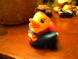 Superman Duck by spongekitty
