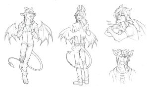 Bael sketches by we-were-in-love