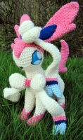 Sylveon by NerdyKnitterDesigns