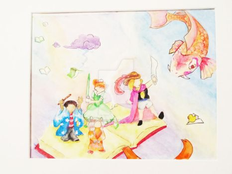 Storybook Watercolor by Silence-ofaDarkHeart