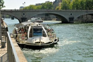 Boating on the Seine by wildplaces