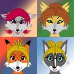 Fursona Maker Art by Snowbristle