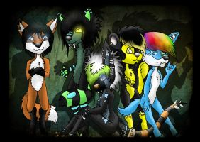 Furry friends by Carlie-NuclearZombie