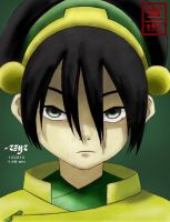 toph bei fong colored by reijr