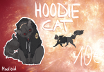 Hoodie Cat Adopt TAKEN by Madlaid