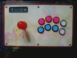 Fluttershy plexi-less wonder by Liam05