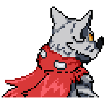 Hackmon backsprite by Searhere