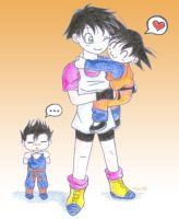 DBZ - Gohan wants one too by Liraen