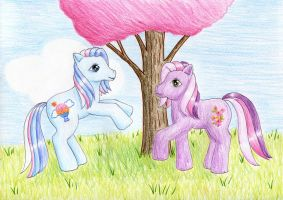 Shenanigans and Cherry Blossom by NormaLeeInsane
